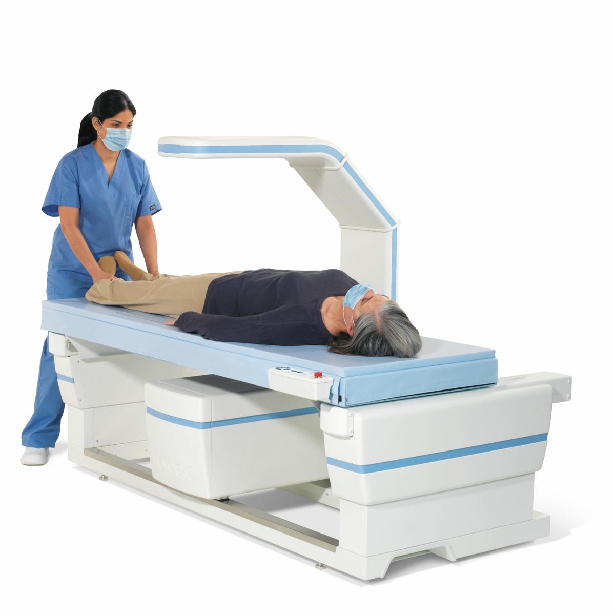 An image of an DXA scan machine